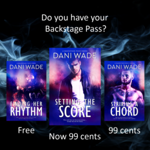 Image depicting Backstage Pass series covers and sale prices.